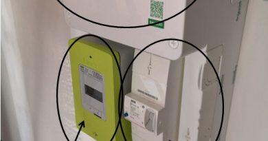 Le disjoncteur de branchement, le tableau électrique, le compteur linky