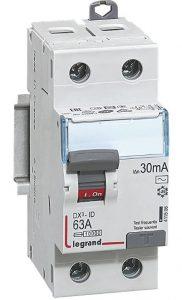 Acheter un interrupteur différentiel 63A legrand sur Amazon