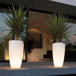 éclairage balcon terrasse patio design étanche